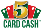 Arizona  5 Card Cash Winning numbers