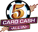 NJ  5 Card Cash Logo
