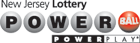 NJ  Powerball Logo
