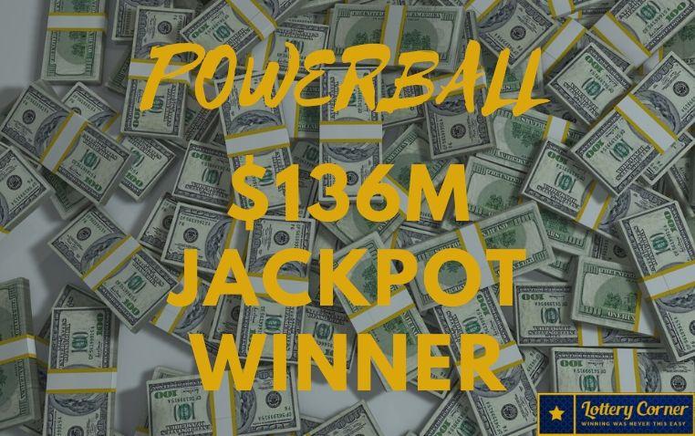 On 06/03/20 Powerball results; $136M jackpot winner