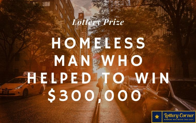 Retired NBA Player Surprises Homeless Man Who Helped To Win $300,000 Lottery Prize