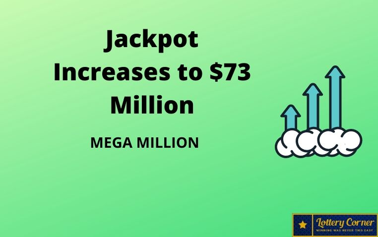 MegaMillion numbers for July3rd, Friday; jackpot increases to $73 million
