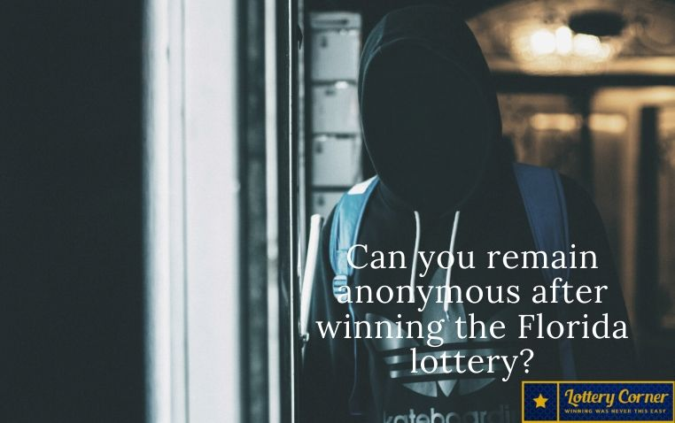 """Can you remain anonymous after winning the Florida lottery? The answer is """"no"""" and """"yes"""""""